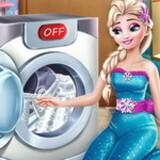 Elsa Wash Clothes